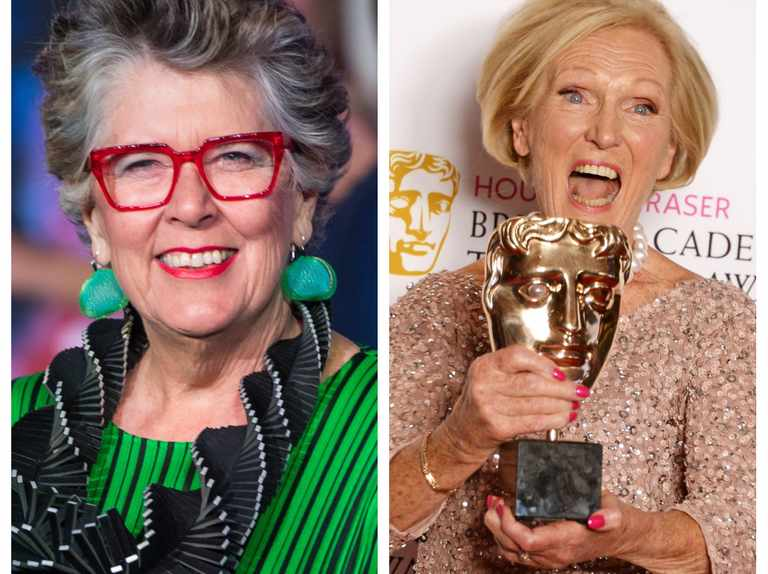 "Prue Leith aiming ""to at least equal Mary Berry"" on Bake Off"