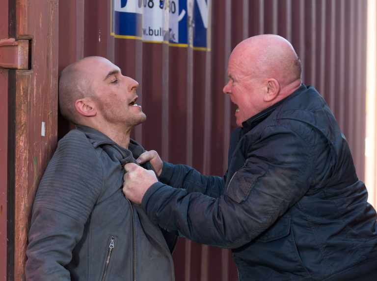 Phil Mitchell ATTACKED by son Ben on EastEnders!