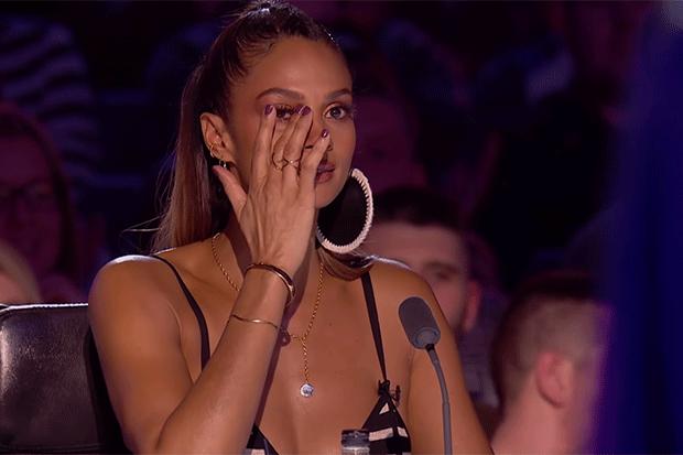 Alesha Dixon cries on Britain's Got Talent, YouTube