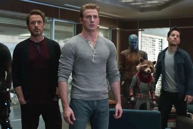 The cast of Avengers: Endgame (Marvel)