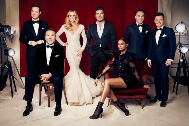 Britain's Got Talent line-up (ITV)