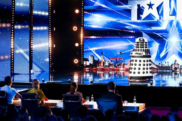 This image is strictly embargoed until 00.01 Friday 5th April 2019  From Syco / Thames  Britain's Got Talent: SR13: Ep1 on ITV  Pictured: Ron.  This photograph is (C) Syco/Thames and can only be reproduced for editorial purposes directly in connection with the programme or event mentioned above, or ITV plc. Once made available by ITV plc Picture Desk, this photograph can be reproduced once only up until the transmission [TX] date and no reproduction fee will be charged. Any subsequent usage may incur a fee. This photograph must not be manipulated [excluding basic cropping] in a manner which alters the visual appearance of the person photographed deemed detrimental or inappropriate by ITV plc Picture Desk.  This photograph must not be syndicated to any other company, publication or website, or permanently archived, without the express written permission of ITV Picture Desk. Full Terms and conditions are available on the website www.itv.com/presscentre/itvpictures/terms  For further information please contact: james.hilder@itv.com / 0207 157 3052