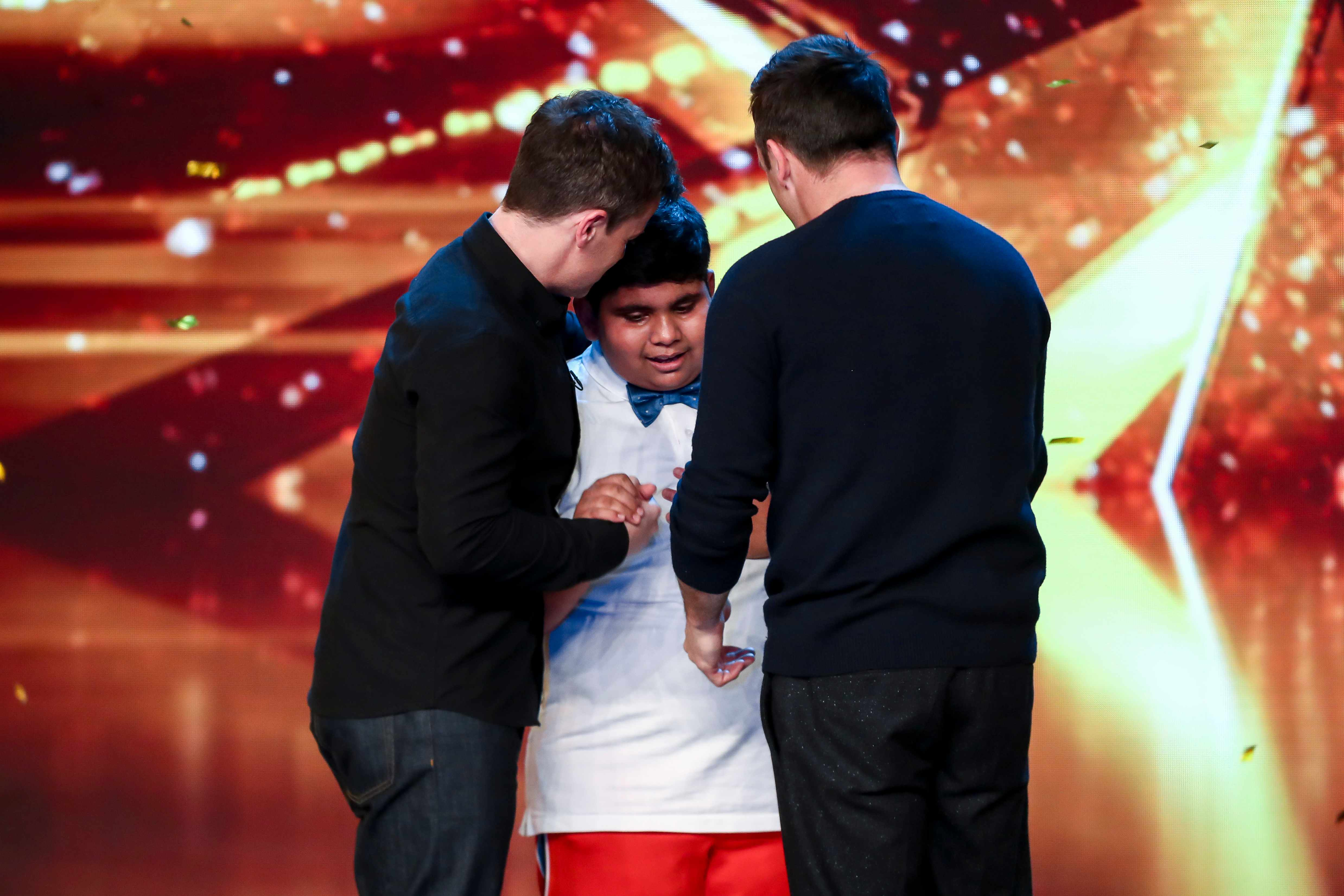 This image is strictly embargoed until 21.20 Saturday 20th April 2019From Syco / ThamesBritain's Got Talent: SR13: Ep3 on ITVPictured: Akshat Singh.This photograph is (C) Syco/Thames and can only be reproduced for editorial purposes directly in connection with the programme or event mentioned above, or ITV plc. Once made available by ITV plc Picture Desk, this photograph can be reproduced once only up until the transmission [TX] date and no reproduction fee will be charged. Any subsequent usage may incur a fee. This photograph must not be manipulated [excluding basic cropping] in a manner which alters the visual appearance of the person photographed deemed detrimental or inappropriate by ITV plc Picture Desk.  This photograph must not be syndicated to any other company, publication or website, or permanently archived, without the express written permission of ITV Picture Desk. Full Terms and conditions are available on the website www.itv.com/presscentre/itvpictures/termsFor further information please contact:james.hilder@itv.com / 0207 157 3052