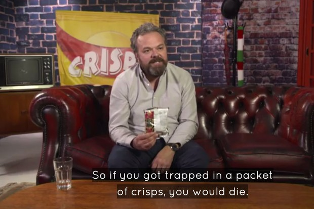 Screenshot of Britain's Favourite Crisps (Channel 5)