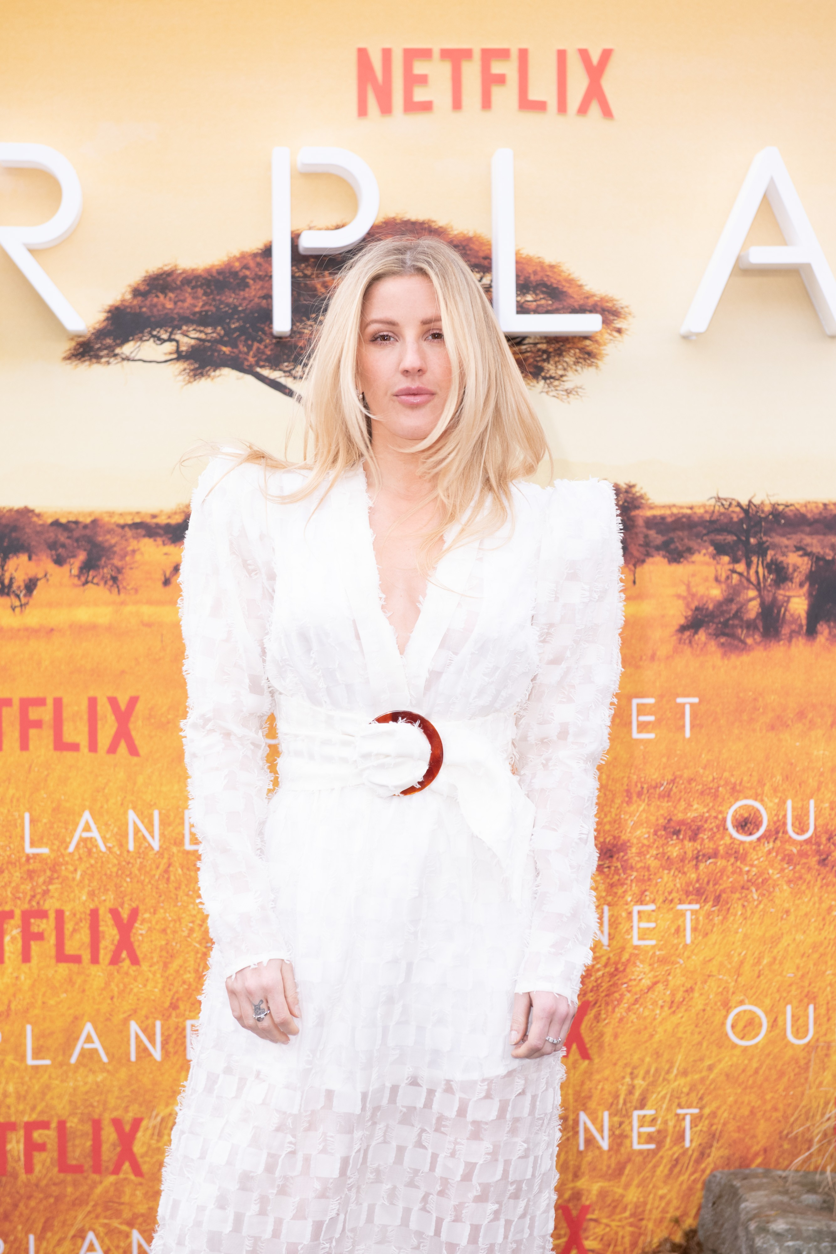 Netflix's Our Planet Royal World Premiere, London, April 2019. (L-R) Ellie Goulding