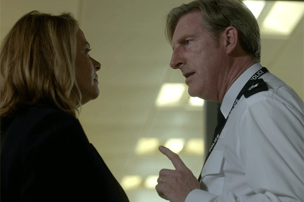 Gill and Ted in Line of Duty, BBC iPlayer