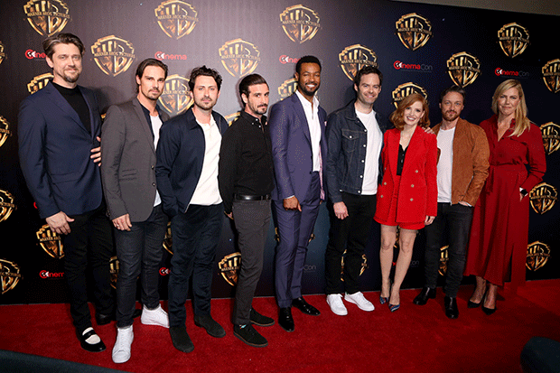 The adult cast of It: Chapter Two, Getty