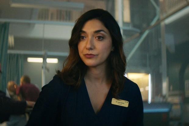 Amiera Darwish plays Dr Laila Karimi