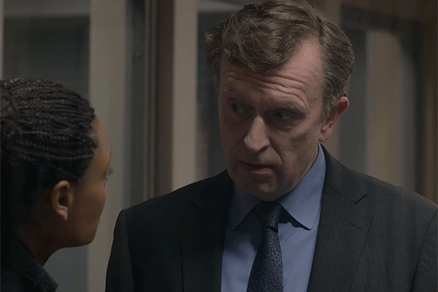 Patrick FitzSymons as Mark Moffatt, Line of Duty, BBC Pictures