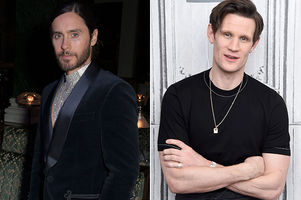 Jared Leto and Matt Smith, Morbius cast, Getty