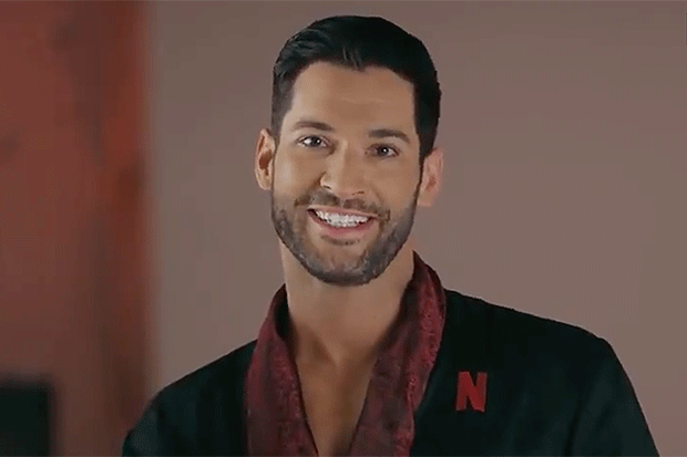 Lucifer trailer | Naked Tom Ellis in first look at series ...
