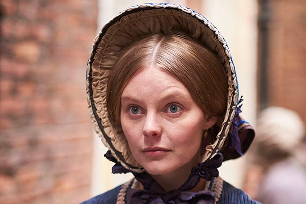 Nell Hudson as Skerret in ITV's Victoria