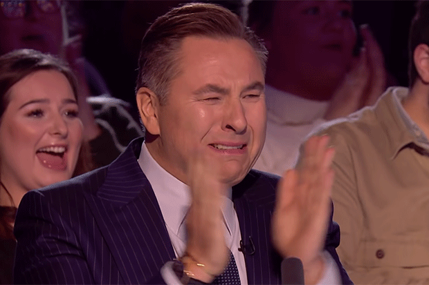 David Walliams cries on Britain's Got Talent, YouTube