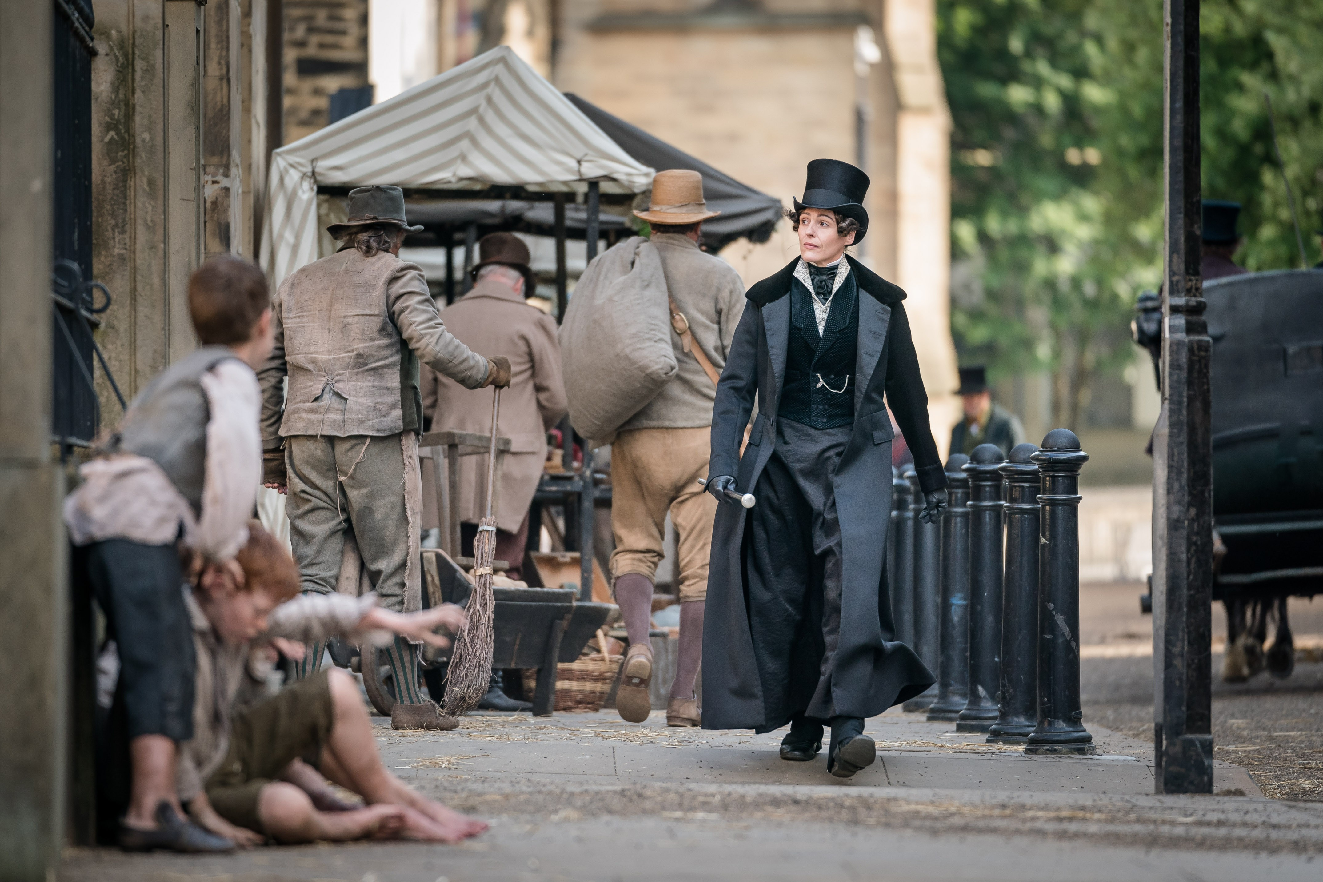 Programme Name: Gentleman Jack - TX: n/a - Episode: Gentleman Jack - Long Leads (No. n/a) - Picture Shows: Anne Lister (SURANNE JONES) - (C) Lookout Point - Photographer: Ben Blackall