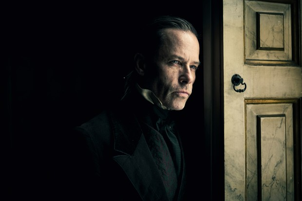 Guy Pearce as Ebenezer Scrooge in new BBC drama A Christmas Carole (Robert Viglasky/FX)