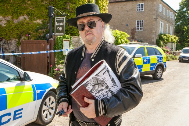 Bill Bailey plays Darwin Chipping in Midsomer Murders