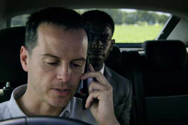 Andrew Scott stars in Black Mirror season five episode Smithereens (Netflix)