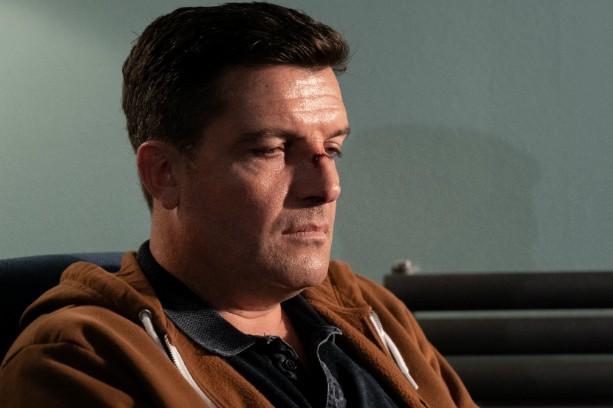 Bradley Freegard plays Evan Howells in Keeping Faith