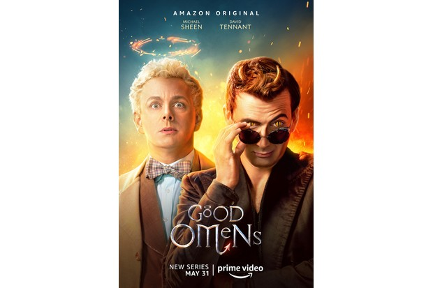 Michael Sheen and David Tennant star in the Amazon Prime Video adaptation of Good Omens (Amazon)