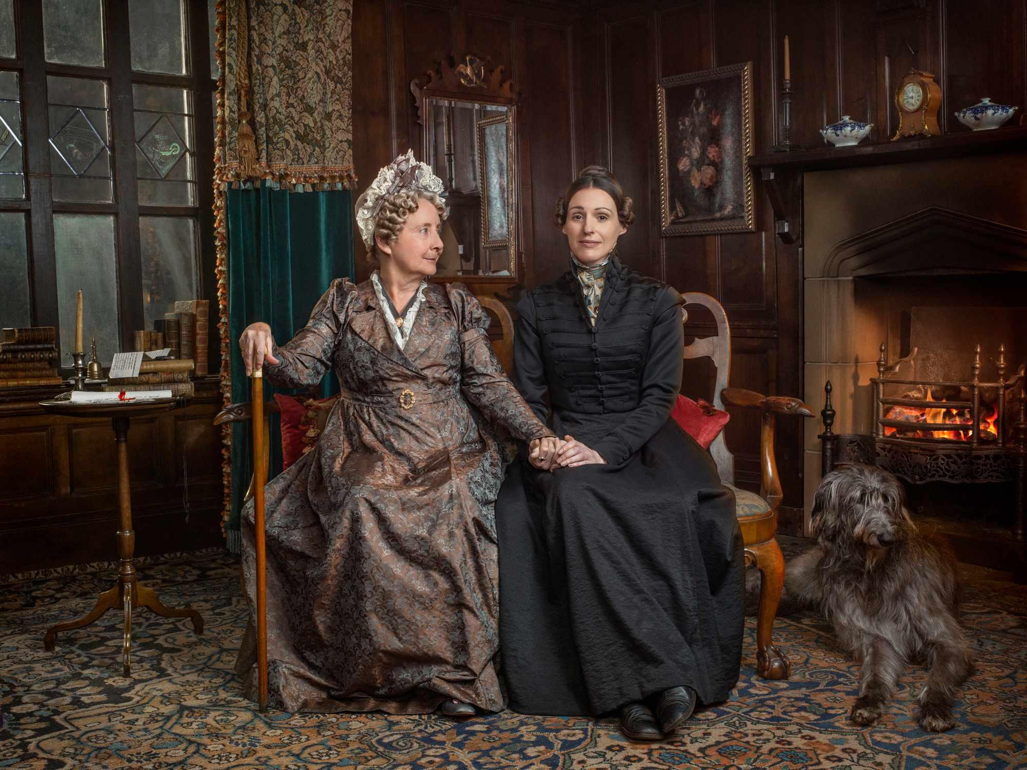 Gemma Jones as Aunt Anne Lister in Gentleman Jack