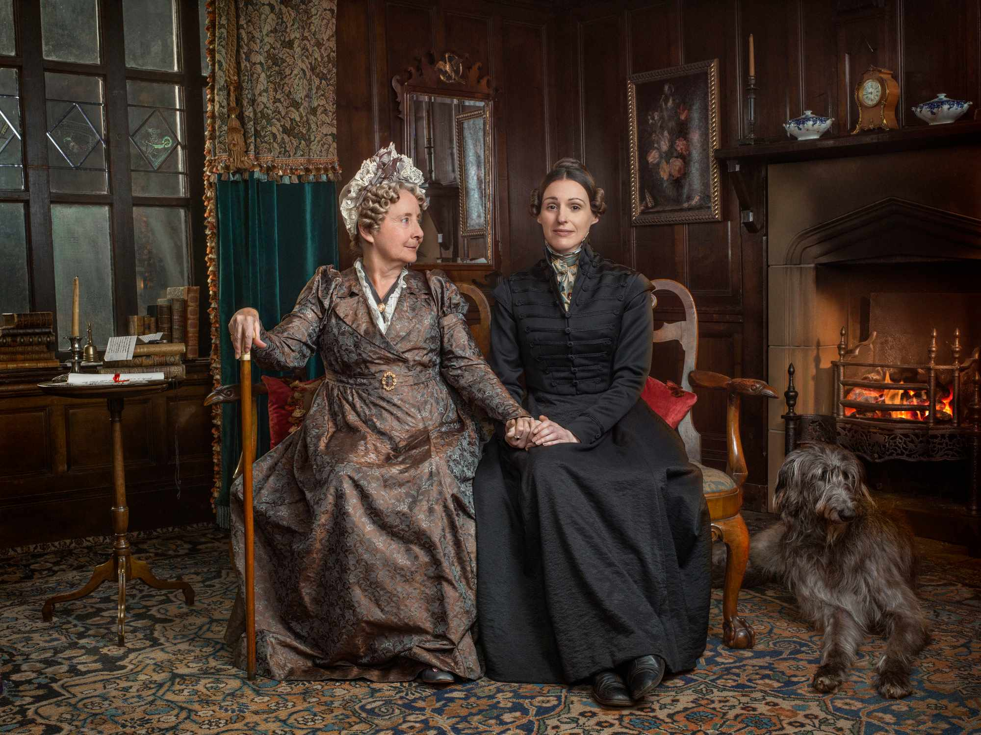 Gemma Jones as Aunt Anne Lister in Gentleman Jack