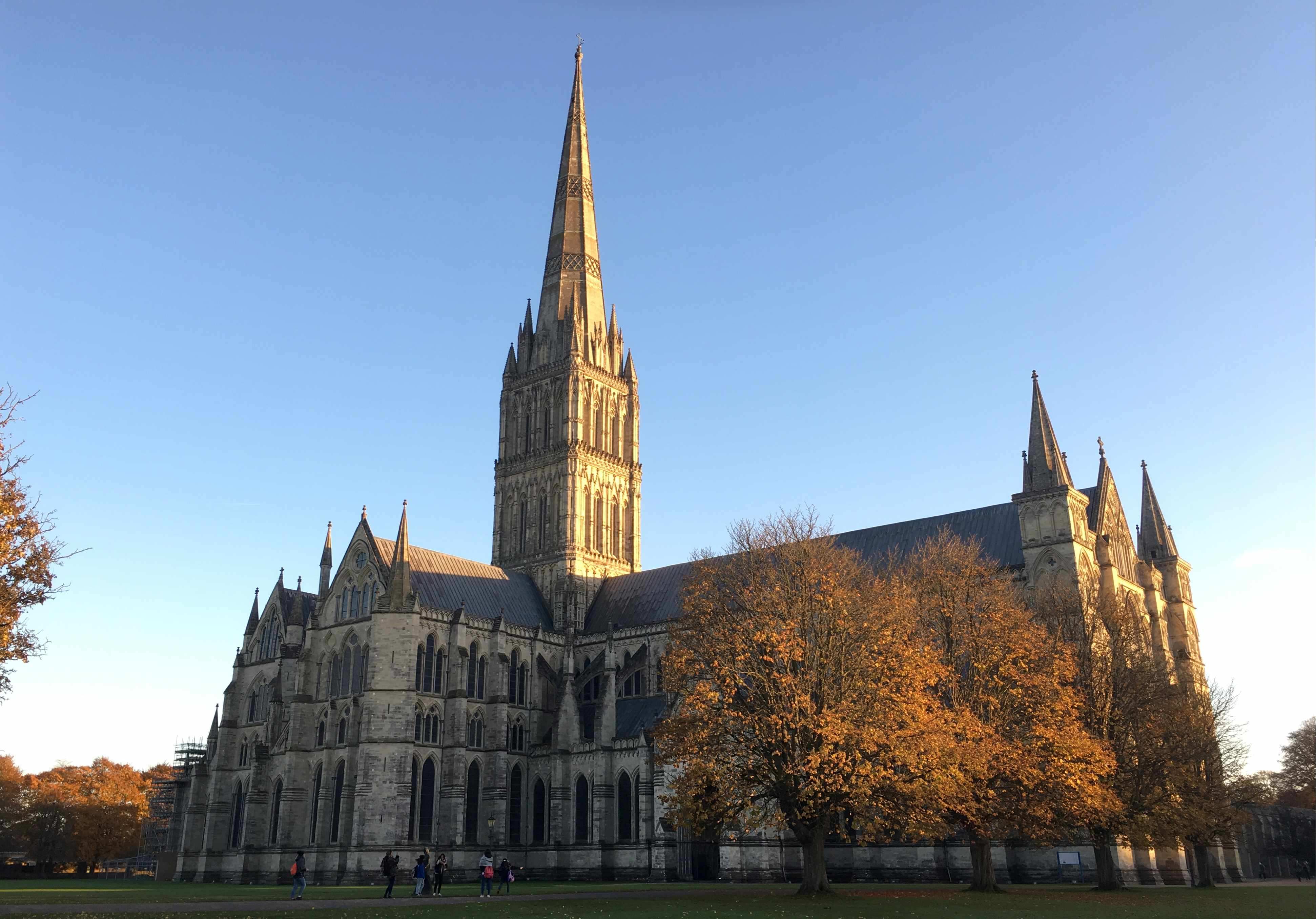 SOUTH WEST ENGLAND, UNITED KINGDOM: Picutred in this file image dated November 12, 2017, is the Cathedral Church of the Blessed Virgin Mary (Salisbury Cathedral) designed in the Early English Gothic style and built in the 13th century, in the city of Salisbury, Wiltshire; suspected of poisoning former Russian military intelligence serviceman Sergei Skripal and his daughter Yulia on March 4, 2018, Russian citizens Alexander Petrov and Ruslan Boshirov claim in an RT interview they travelled to Salisbury as tourists, in particular to visit the Salibsury Cathedral. Ilya Dmitryachev/TASS (Photo by Ilya DmitryachevTASS via Getty Images)