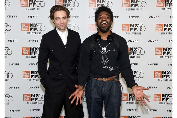 """NEW YORK, NY - OCTOBER 02: Robert Pattinson and Andre Benjamin attend the 56th New York Film Festival screening of """"High Life"""" at Alice Tully Hall, Lincoln Center on October 2, 2018 in New York City. (Photo by Jamie McCarthy/Getty Images)"""