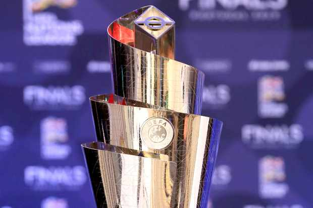 UEFA Nations League trophy