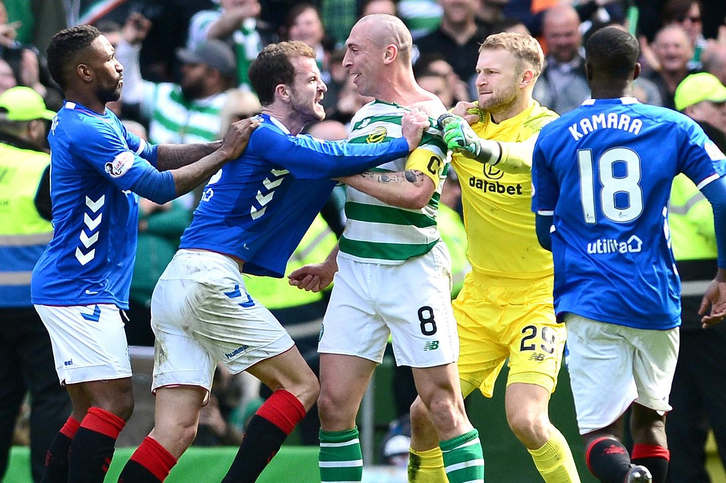 Celtic Rangers Old Firm derby