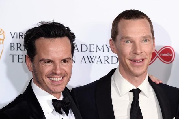 Benedict Cumberbatch, Andrew Scott (Getty)