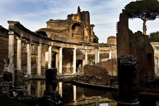 The Maritime Theatre in Hadrian's Villa