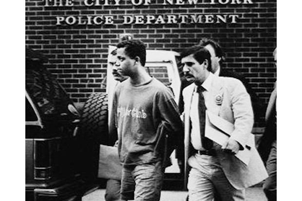 UNITED STATES - AUGUST 06: Rape and serial murder suspect Matias Reyes, 18, is taken by detectives from the W. 82d St. station for booking. (Photo by William LaForce Jr./NY Daily News Archive via Getty Images)