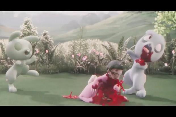 Good Omens bunny murder