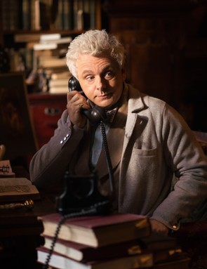 Michael Sheen as Aziraphale in Good Omens (Amazon, BBC)