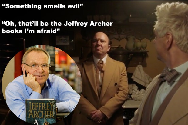 Jeffrey Archer in Good Omens