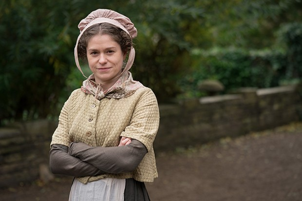 Jessica Baglow plays Hemingway in Gentleman Jack