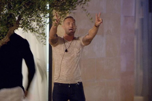 Calum Best, Love Island series 1 (ITV screenshot)