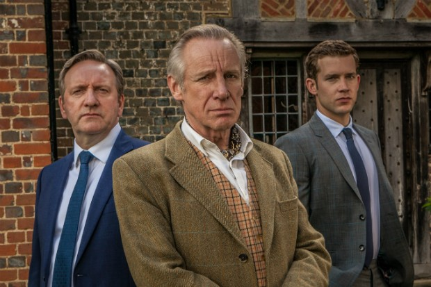 Nicholas Farrell plays Isaac Starling in Midsomer Murders