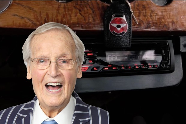 Nicholas Parsons in Good Omens