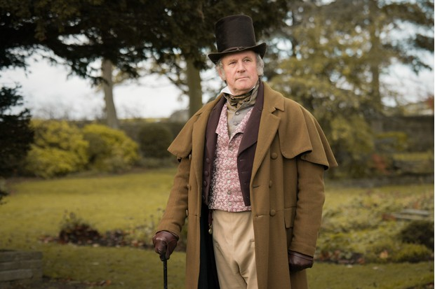 Peter Davison plays William Priestley in Gentleman Jack