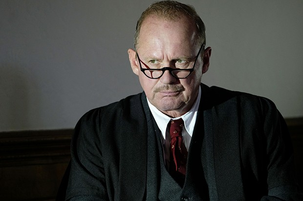 Peter Firth plays Tezler in Summer of Rockets