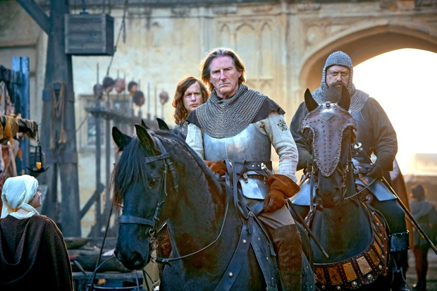 Adrian Dunbar as Plantagenet (BBC Pictures)
