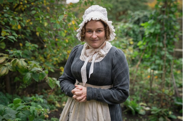 Rosie Cavaliero plays Elizabeth Cordingley in Gentleman Jack