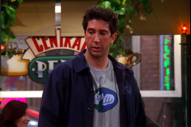 Ross in Friends