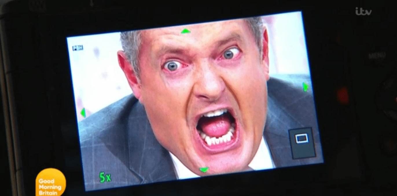 Piers trying out a birthing simulator on GMB
