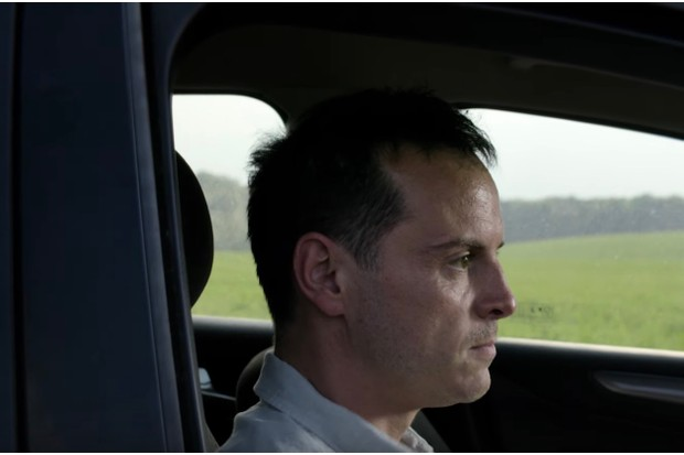 Andrew Scott appears in the first trailer for Black Mirror season five (YouTube/Netflix)