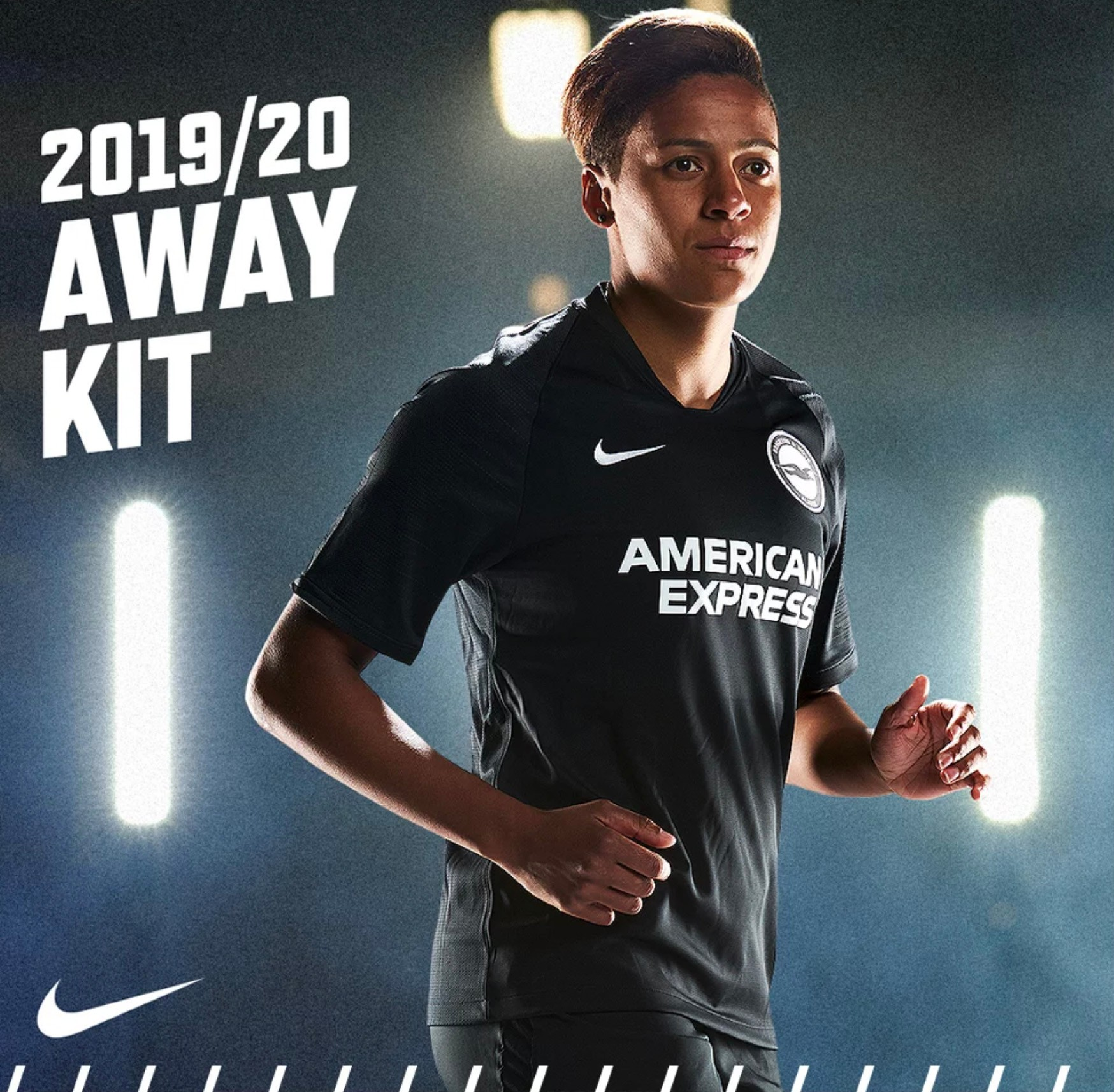 Brighton away kit