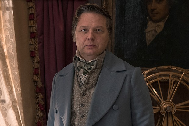 Shaun Dooley plays Jeremiah Rawson in Gentleman Jack