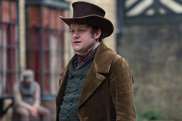 Thomas Howes plays John Booth in Gentleman Jack
