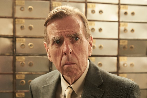Timothy Spall plays Terry Perkins in Hatton Garden